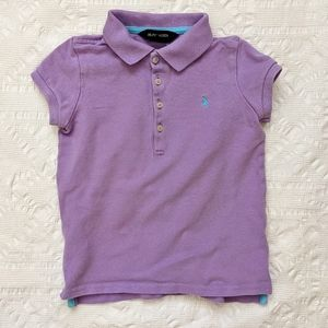 RALPH LAUREN light Purple Polo 5T
